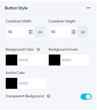 Toggle Button - Button Style